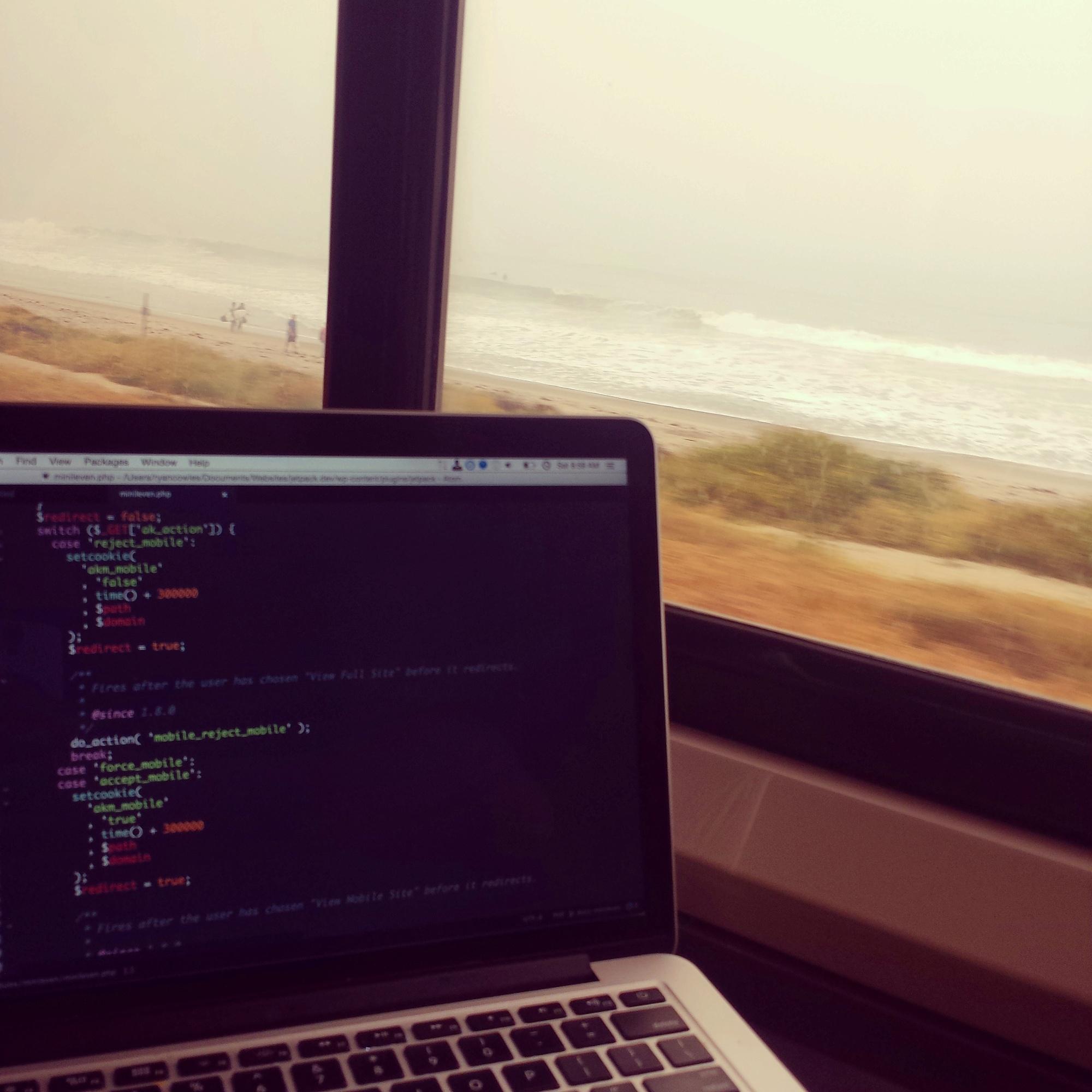 Working on Amtrak's Pacific Surfliner