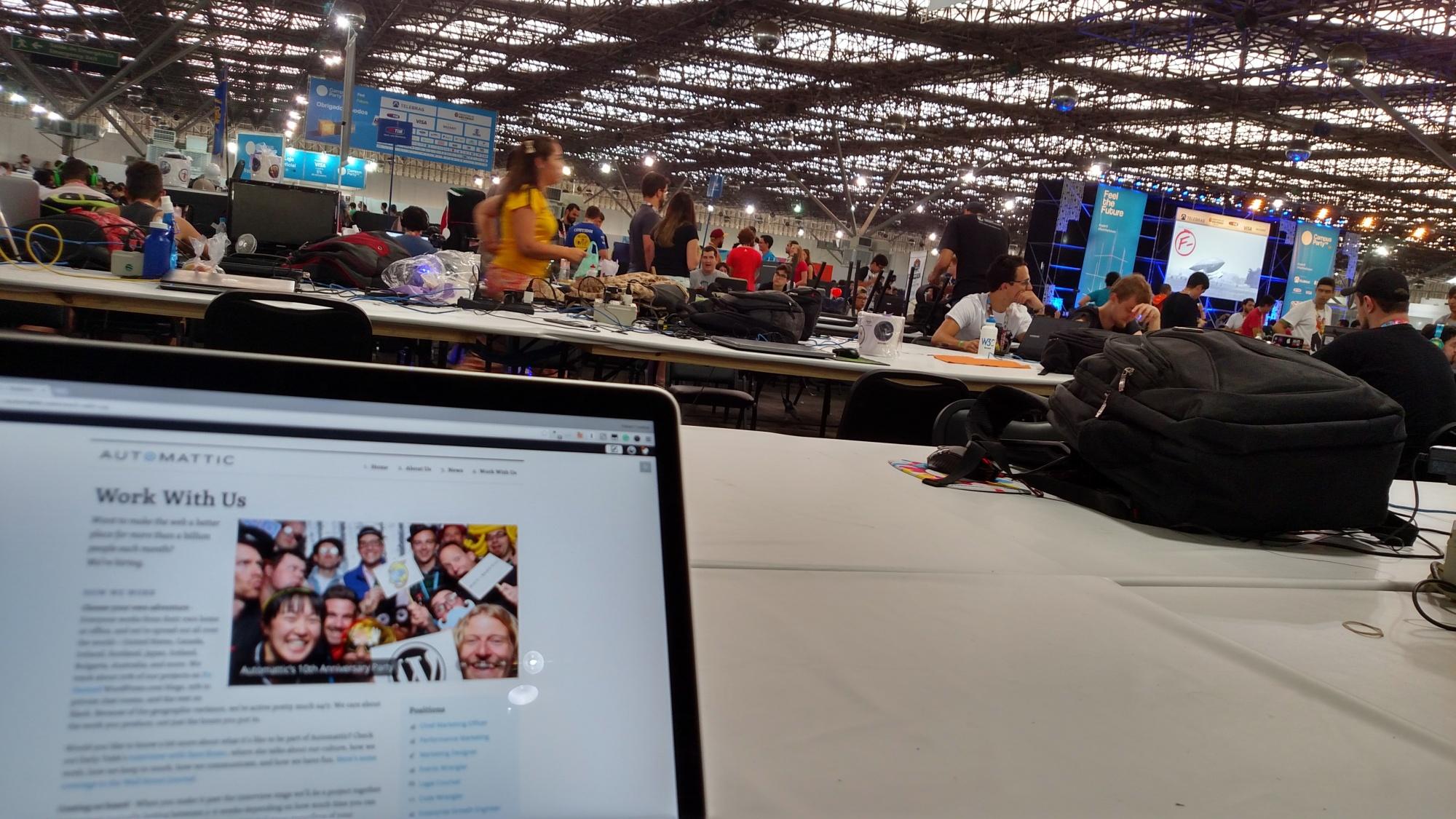 Campus Party, São Paulo, Brazil