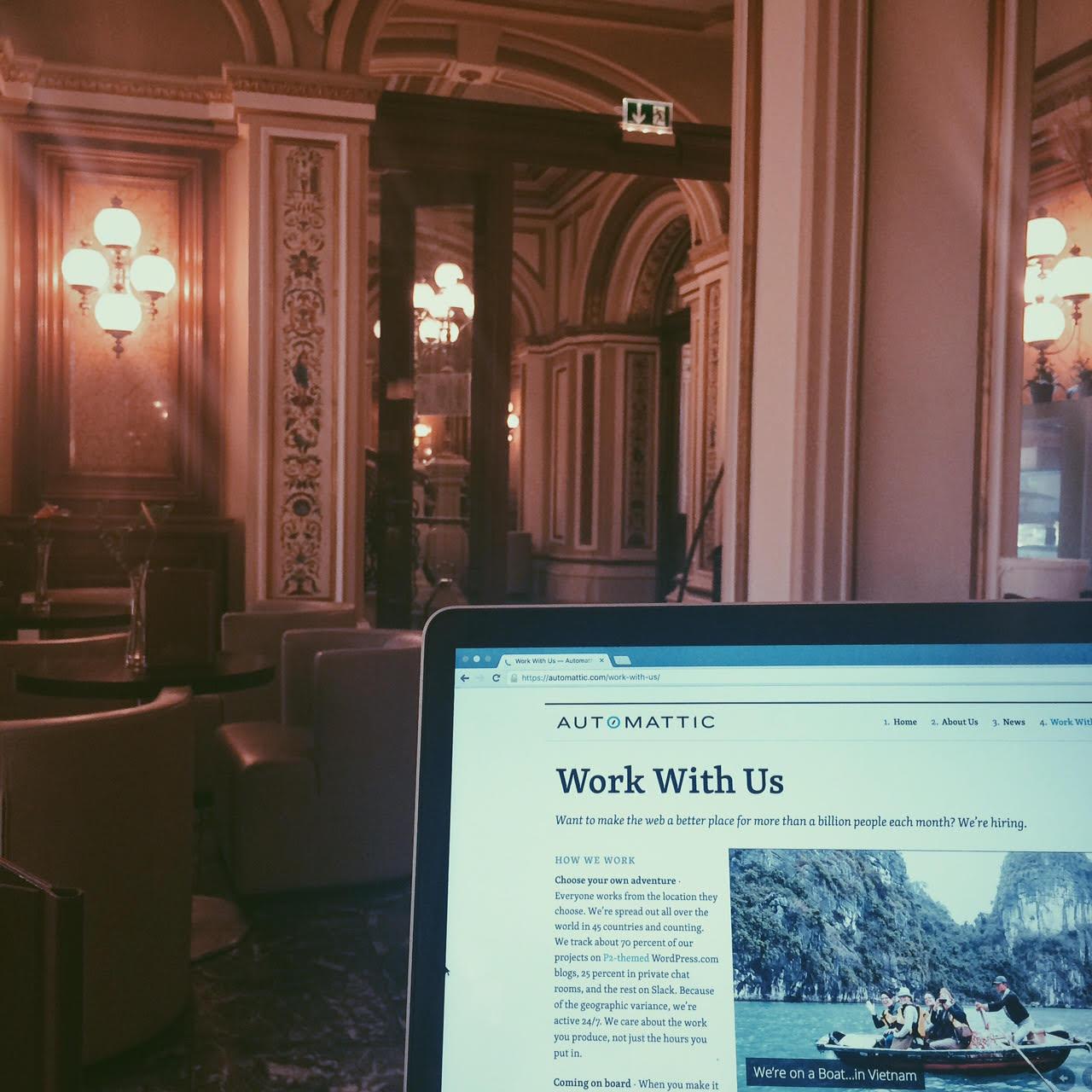 Working from Vienna