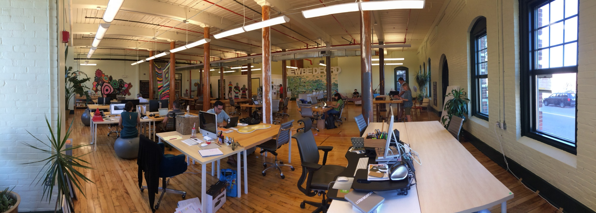 Groundwork co-working space in New Bedford, MA