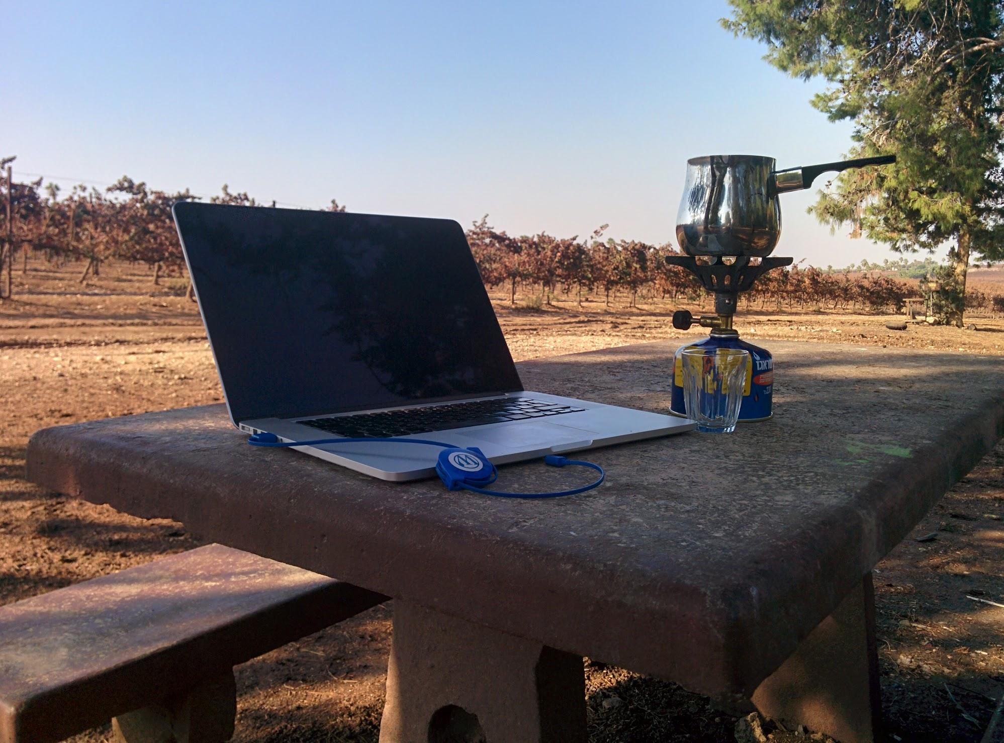 Near Kibbutz Hulda, Israel