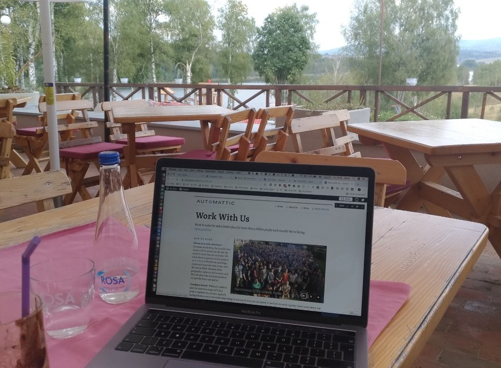 Working from Vlasina Lake